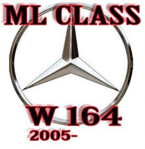 MERCEDES ML  SRS ,SEAT OCCUPANCY , CHILD RECOGNITION  SENSOR  ML CLASS W164 2005-